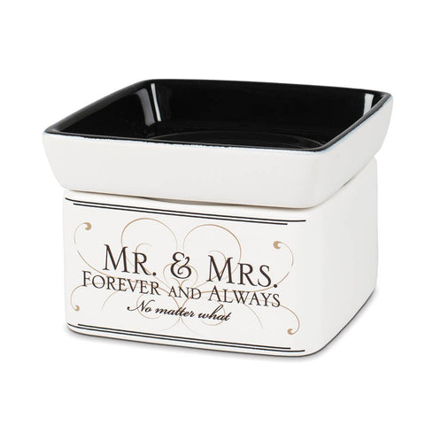 Large 2-in-1 Warmer: Mr. and Mrs. Forever and Always