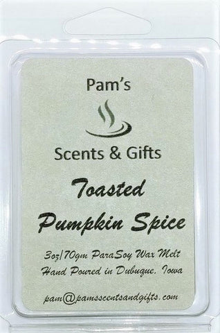 Toasted Pumpkin Spice Wax Melts - Pam's Scents and Gifts