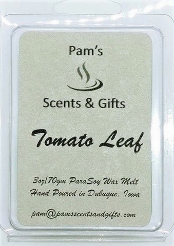 Tomato Leaf Wax Melts - Pam's Scents and Gifts