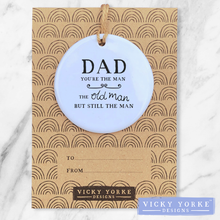 Load image into Gallery viewer, Personalised-ornament-Dad