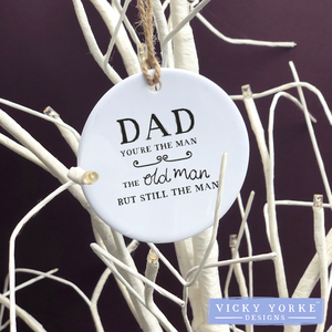 Personalised-hanging-ornament-Dad