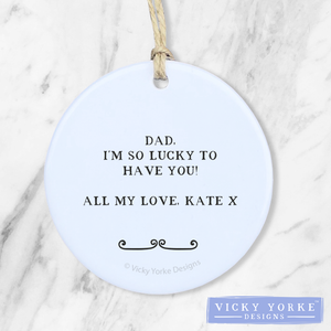 Personalised-ornament-Dad-thank-you
