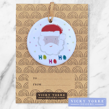 Load image into Gallery viewer, personalised-ornament-ho-ho-ho