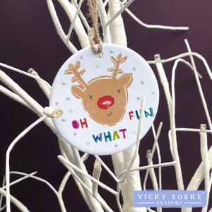 Personalised-hanging-ornament-rudolph