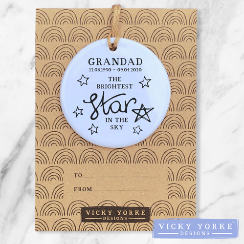 Personalised-ornament-brightest-star