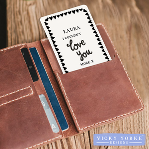 'Pocket Keepsakes' (Personalised) - 'I Couldn't Love You More'