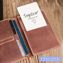 Load image into Gallery viewer, 'Pocket Keepsakes' (Personalised) - 'Together We Have It All'