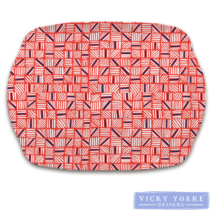 kitchen-tray-geometric-red