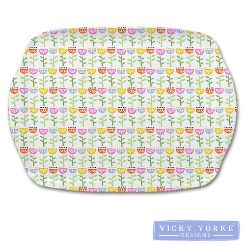 kitchen-tray-mini-flowers-floral