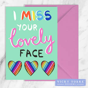 greetings-card-set-miss-your-face