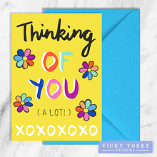 Load image into Gallery viewer, greetings-card-set-thinking-of-you-lots