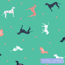Load image into Gallery viewer, tea-towel-dogs-dotty