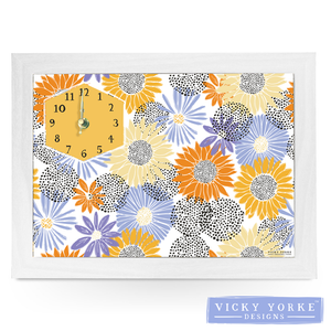 clock-sunflowers-wall-art