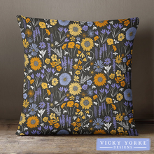 Load image into Gallery viewer, Meadow-floral-cushion