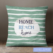 Load image into Gallery viewer, Home-beach-home-cushion