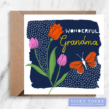 Load image into Gallery viewer, Greetings Card - 'Wonderful Nan / Grandma'