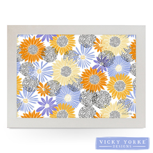 Load image into Gallery viewer, lap-tray-sunflowers-made-in-UK