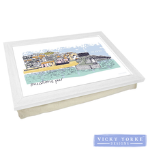 Load image into Gallery viewer, lap-tray-st-ives-smeatons-pier