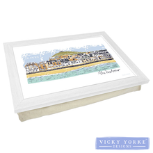 Load image into Gallery viewer, lap-tray-st-ives-harbour