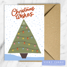 Load image into Gallery viewer, Christmas-card-set-Christmas-tree