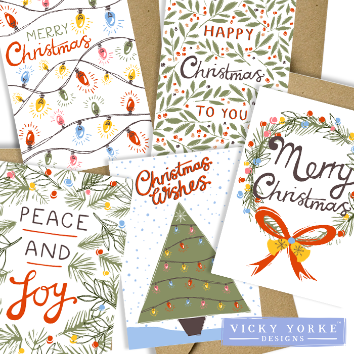 Christmas-card-set-eco-friendly-vintage