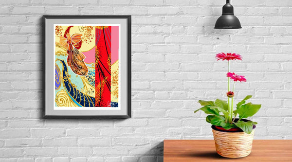 Gold Fish GICLEE