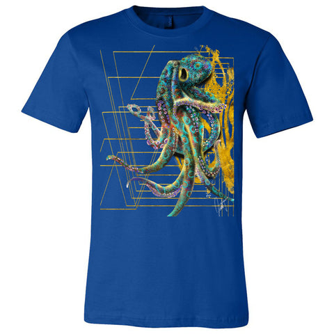 The Octopus Bella + Canvas - Unisex Short Sleeve Jersey Tee