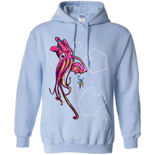 Shun Squid Attack Gildan - Heavy Blend Hooded Sweatshirt