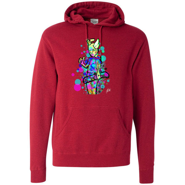 Mr Dot Independent - Hooded Pullover Sweatshirt