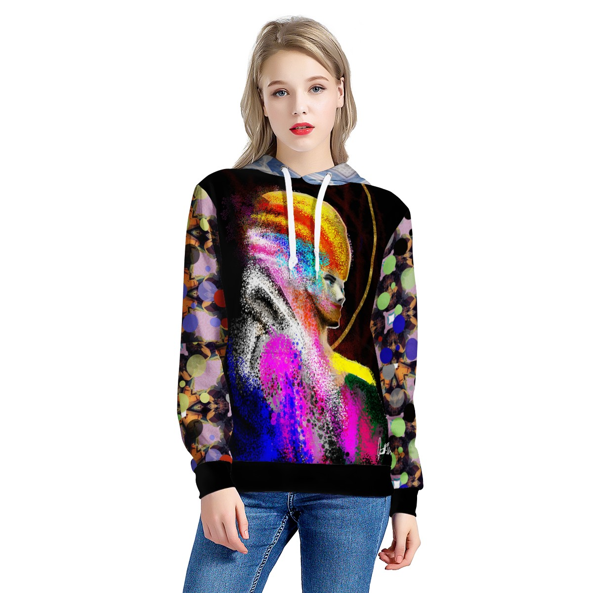 lady of the stars sweater All Over Print Hoodie