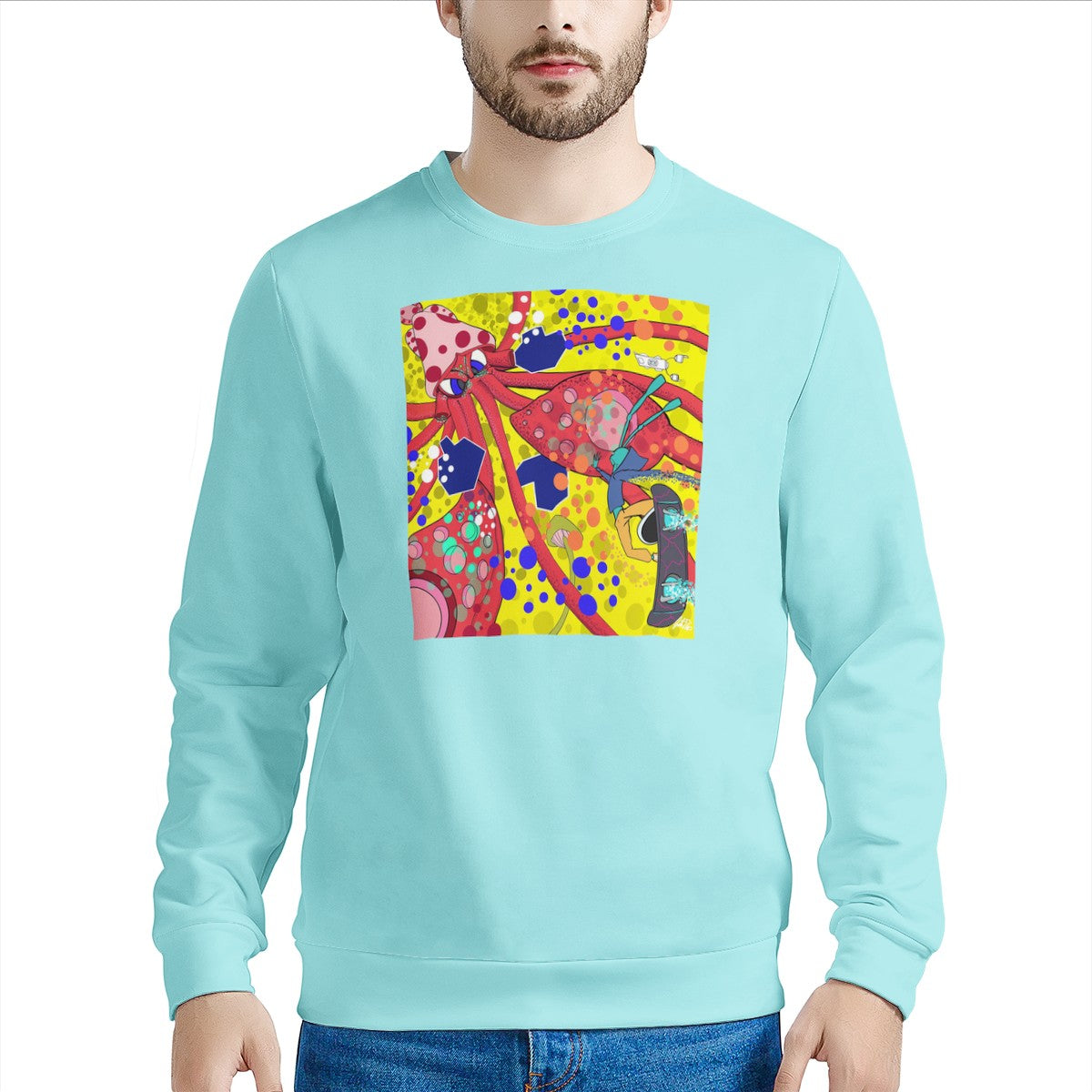 The Return of the Octo Sweater Men's Sweater