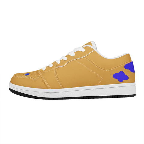 Atin ones. These are Atin signature Shoe the color are her colors. royalty she is Lowtop sneakers
