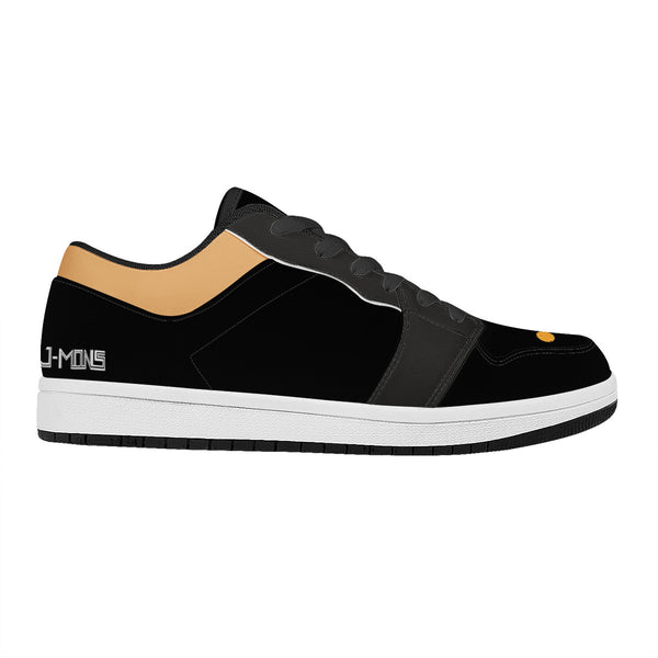 Jmons black knight Black Low Top Sport Shoes