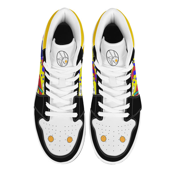 The Return of the Octo Shoe White hightop sneakers