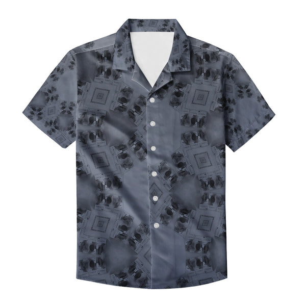 cyber sun shirt Men's Casual Shirt