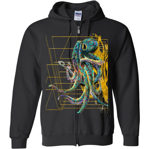 The Octopus Gildan - Heavy Blend Full-Zip Hooded Sweatshirt