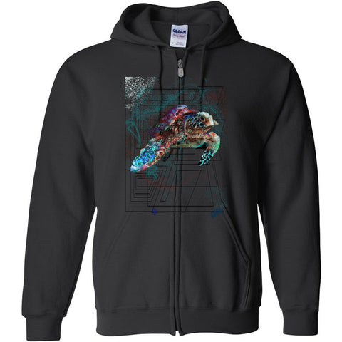 Turtle Gildan - Heavy Blend Full-Zip Hooded Sweatshirt