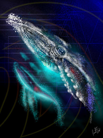 The Disapearing Whale GICLEE