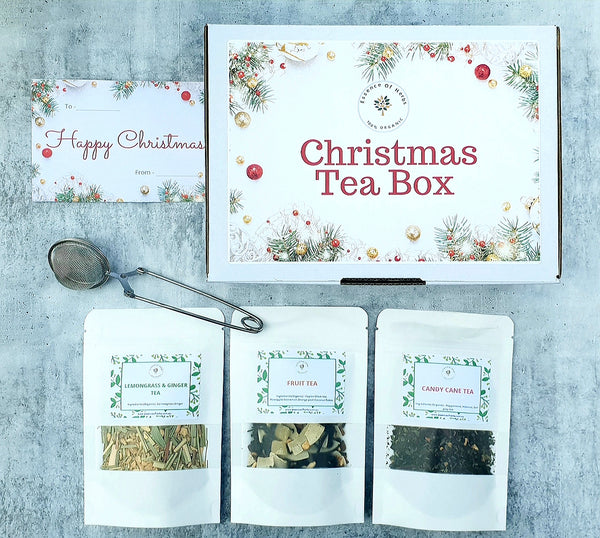 Christmas tea box