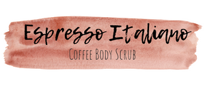 Homemade Espresso Italiano Body Scrub Recipe