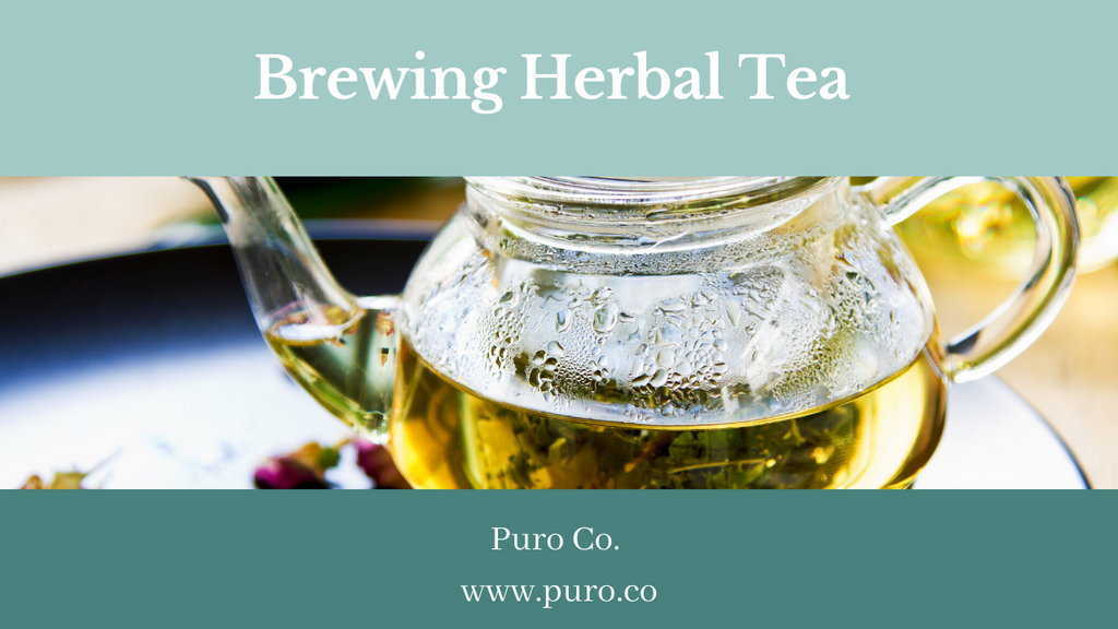 Brewing Herbal Tea
