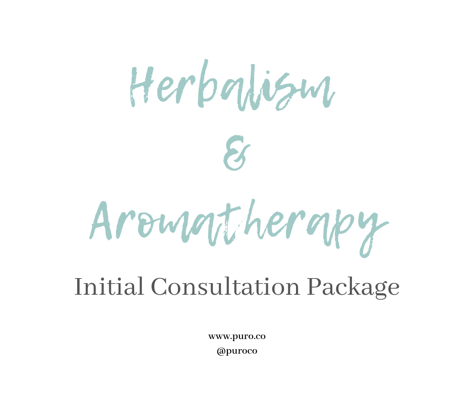 Herbalism & Aromatherapy Consultation Initial Package