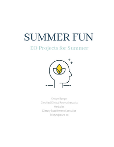Summer Fun: EO Projects for Summer