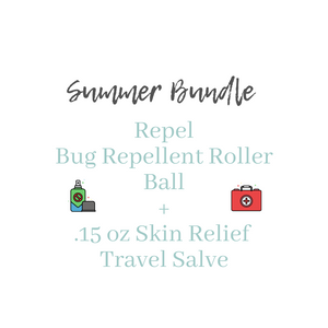 Summer Bundle Repel Roller Ball + Skin Relief