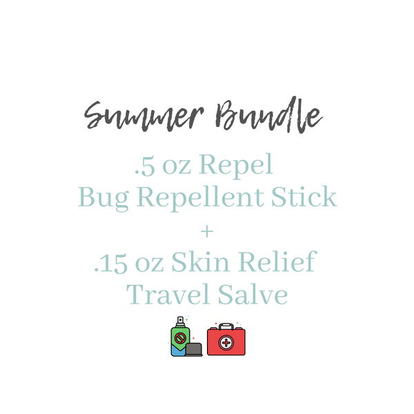 Summer Bundle Repel + Skin Relief