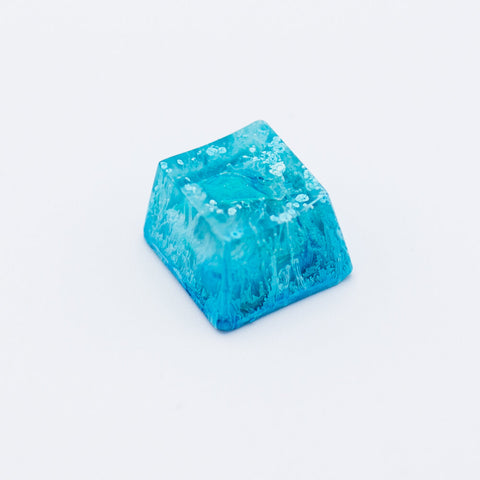 Blue Abstract Keycap