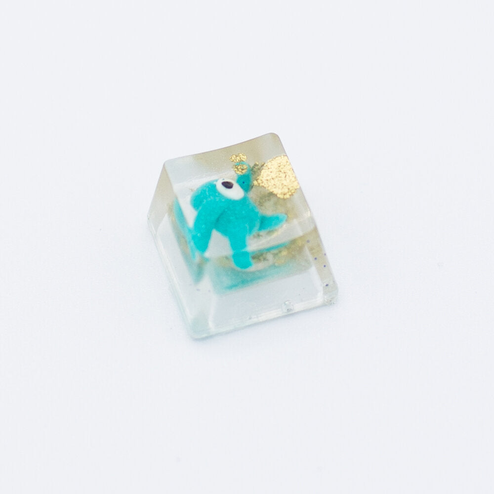 Fall Guys Blue Team Keycap