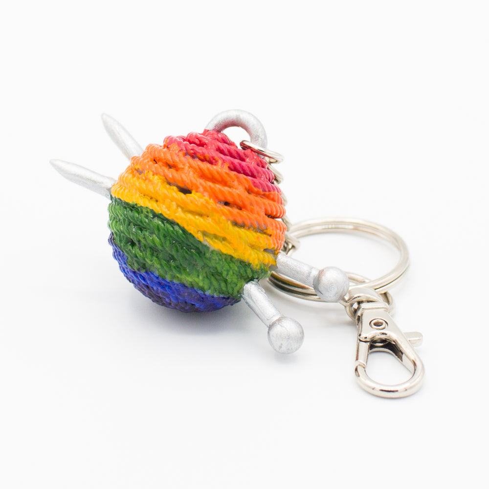 Pride Knitting Bag Charm