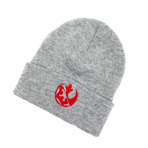 Force Conflict in Grey Beanie Cap