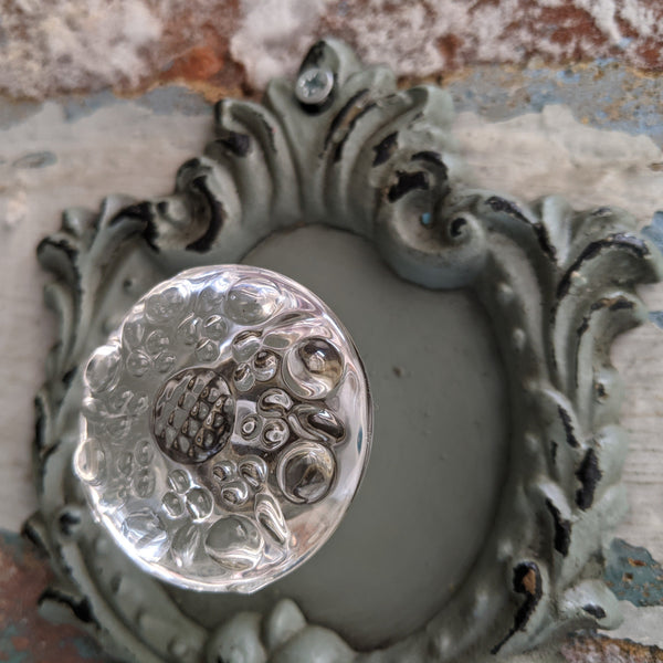 NEW French Vintage Shabby Chic Rustic Metal Curtain TIE BACK Coat Hook Finial Pull Handle
